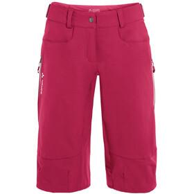 VAUDE Moab IV Shorts Women crimson red
